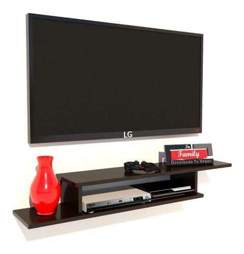Repisa Mueble Tv Entretenimiento Flotante Moderno -mdf 15cm