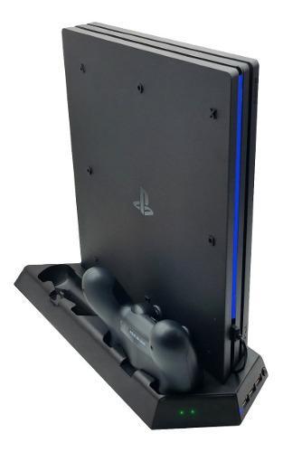 Base Refrigerante Para Consola Ps4 Y Cargador Doble