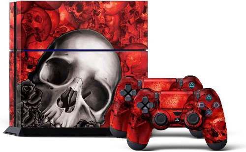 Ps4 Console Skin De Diseñador Para Sony Playstation 4 S...
