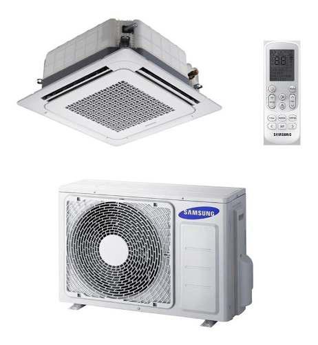 Aire Acondicionado Samsung 48.000 Btu Cassette 4 Vias Heat P