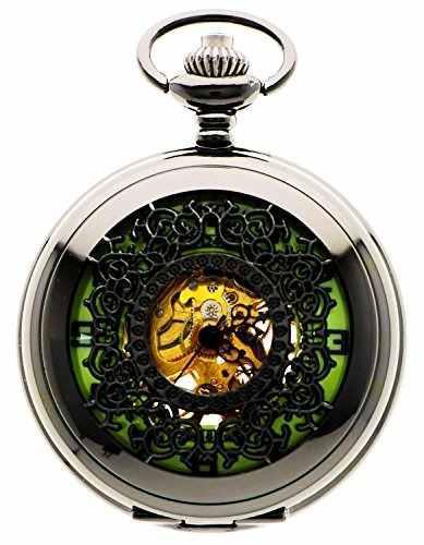 Reloj De Bolsillo Mecánico De La Nueva Marca Mall Mens