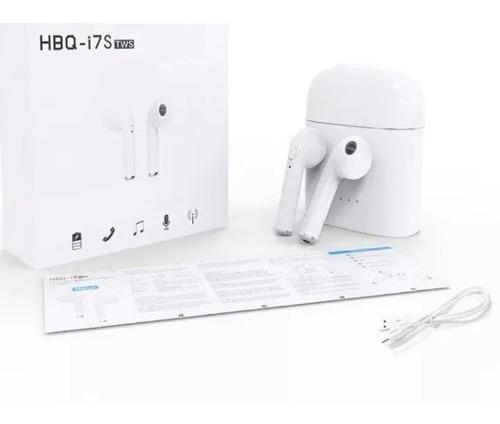 Audífonos Inalambricos Hbq I7s Bluetooth Cargador Portatil