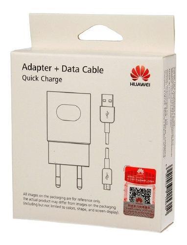 Cargador Huawei Original Gr5 Y6 Y7 Y9 P8 Mate7 P9 Lite Honor