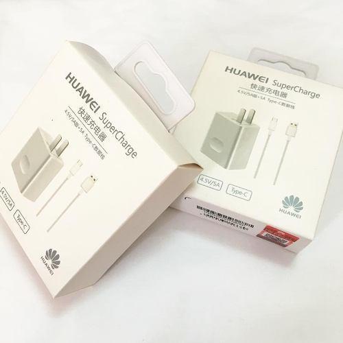 Cargador Huawei Original Tipo C Supercarga P30 Mate20 P20