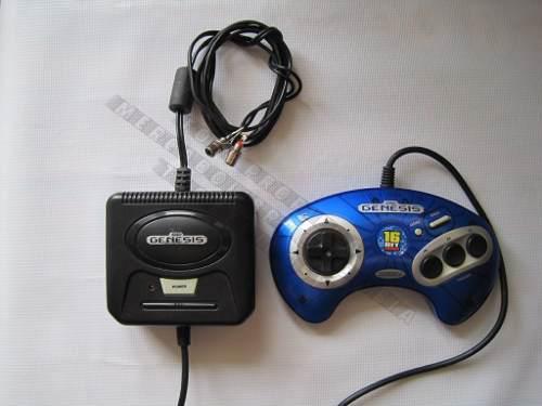 Consola Sega Genesis Radica Arcade Legend 6 Juegos Plug Play