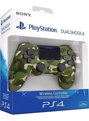 Control Ps4 Dualshock 4 Camuflado +obsequio: Grips. Sellado