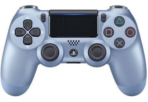 Control Ps4 Titanium Blue Dualshock 4 + Regalo: Grips. Nuevo