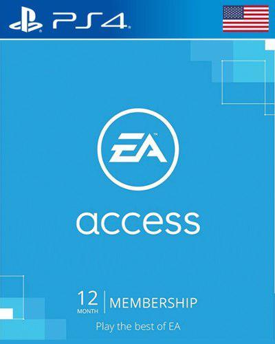 Ea Access 12 Meses Ps4 Usa, Original Envio En Minutos