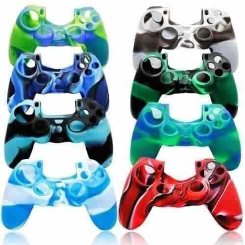 Forro Silicon Funda Protector Control Ps4 - Color Al Azar.