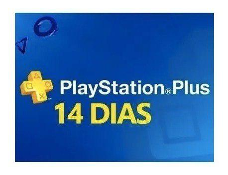 Membresía Playstation Plus 14 Dias - Ps3 Ps4 - Psn Plus