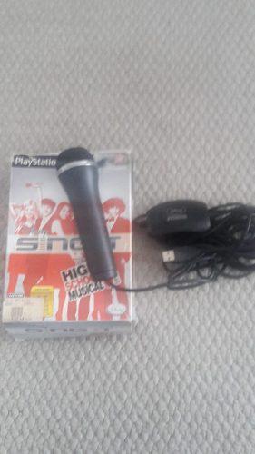 Microfono Para Play Station 2 Usado Con Juego High School 3