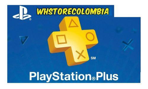 Playstation Psn Plus 3 Meses 98 Días Ps4 Online +juegos