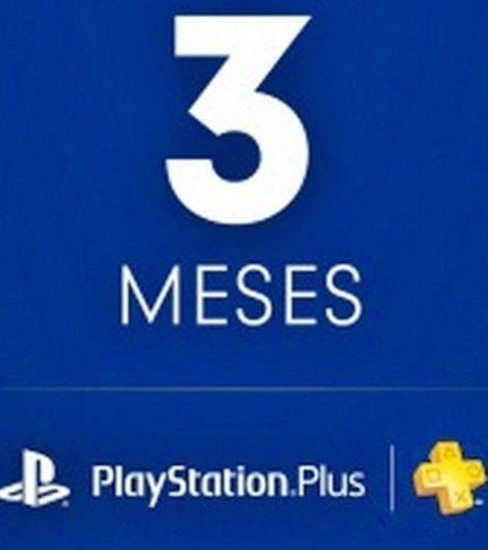 Playstation Psn Plus 3 Meses 98 Días Ps4-ps3 + Juegos