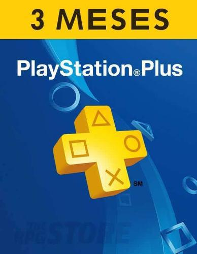 Playstation Psn Plus 3 Meses (98 Días) Ps4+juegos