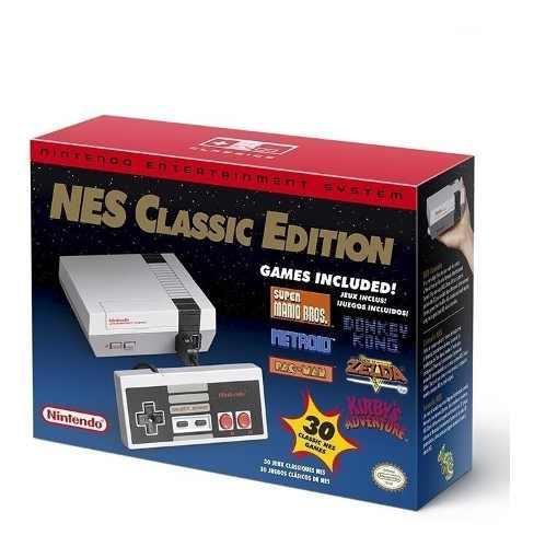 Consola Nintendo Nes Classic Mini Edition 30 Juegos Original