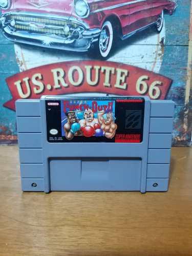 Juego Original Pa Consola Super Nintendo Snes Super Punch Ou