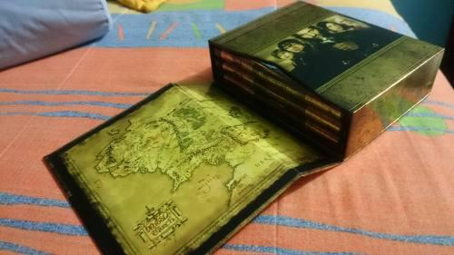 The Lord Of The Rings Trilogy Blu Ray