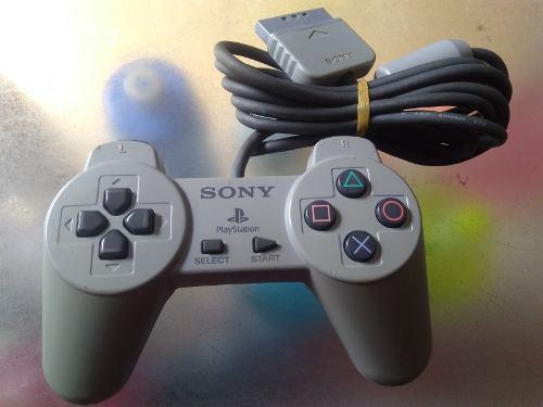Control De Playstation 1 Original Sencillo #01,de Colorgris.