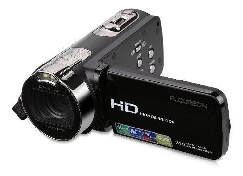 Videocamara Floureon Hd 1080p Cámara De Video Digital Lcd