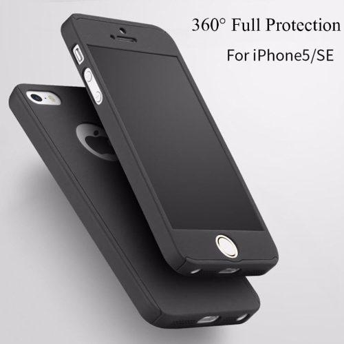 Forro Estuche 360° iPhone Se / 5s / 5 / Carcasa Antishock