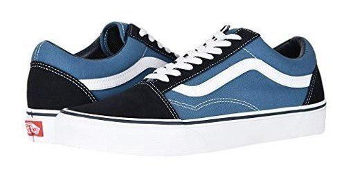 Vans Old Skool Core Classics Navy Tenis Zapatos Unisex