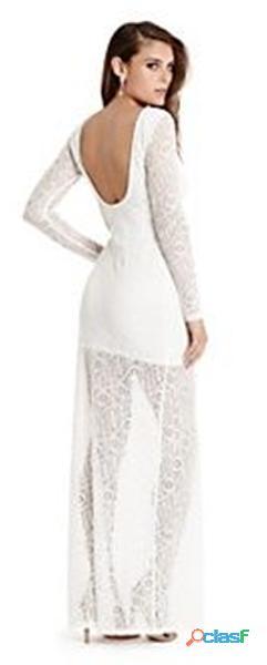 Alquiler de vestidos blancos en encaje para mujer en itagui