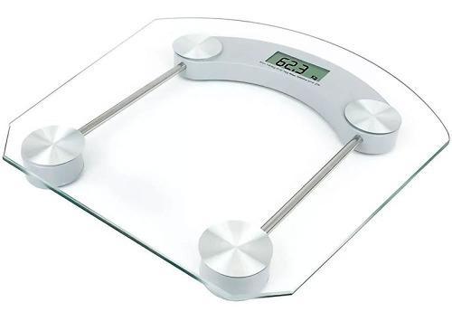 Bascula Digital Pesa Personas Baño Pantalla 150kg Digital