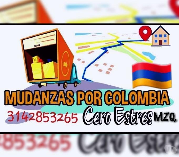SERVICIO DE MUDANZAS EN MANIZALES Y TODO CALDAS 3142853265