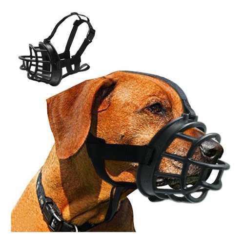 Bozal Color Negro Talla 5 Para Perros Entrega Ya!!