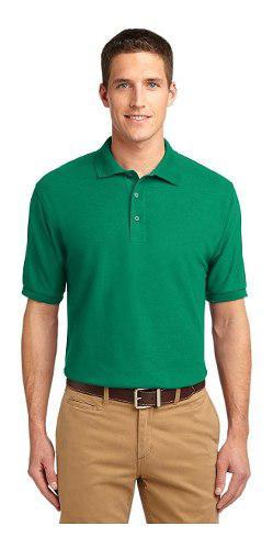 Camiseta Tipo Polo En Color Para Mujer Y Hombre - Bordamos