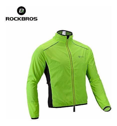 Chaqueta Rompeviento Importada Reflectiva Bicicleta Rockbros