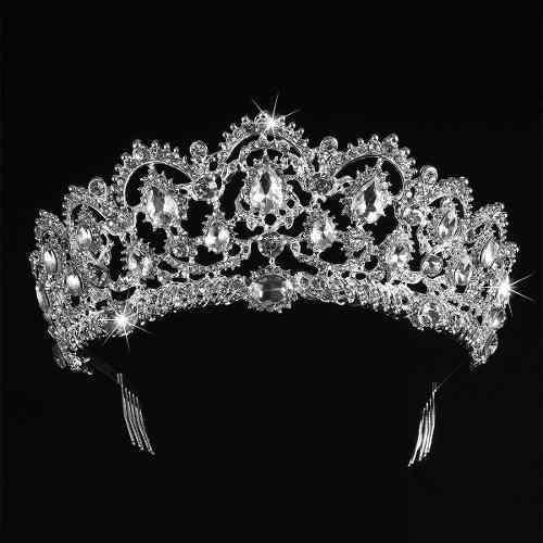 Coronas De Tiara De Boda Para Novia-royal Tocado De Nov...