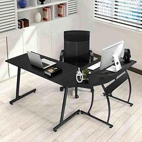 Escritorio De Oficina Pc Portátil Mesa Workstation