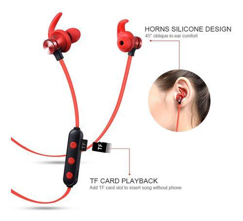 Audífonos Bluetooth Deportivos Reproductor Mp3 Potente