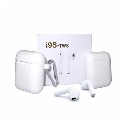 Audifonos AirPods I9s Tws +box Carga + Silicona+arnes