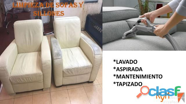 Reparación, mantenimiento, tapiceria y lavado de sillas de