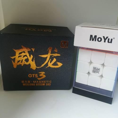 Cubo Rubik 3x3 Moyu Weilong Gts 3 M - Profesional Magnetico