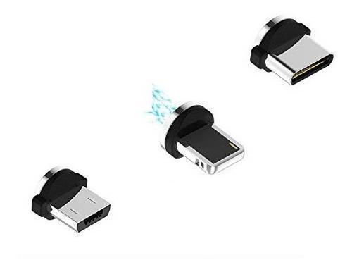 Magneto Para Cargador Magnético iPhone, Tipo C O Micro Usb