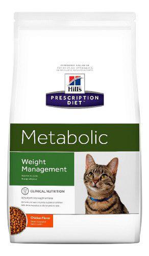 Alimento Para Gato F Adult Metabolic Hill's Adultos Todas La