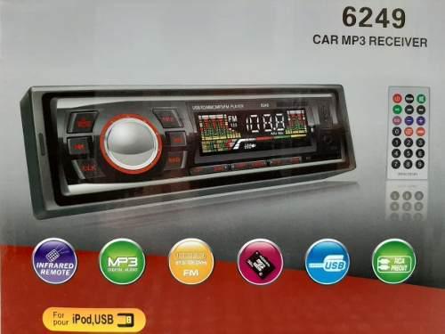Radio Generico Con Mp3/usb/sd/auxiliar/fm