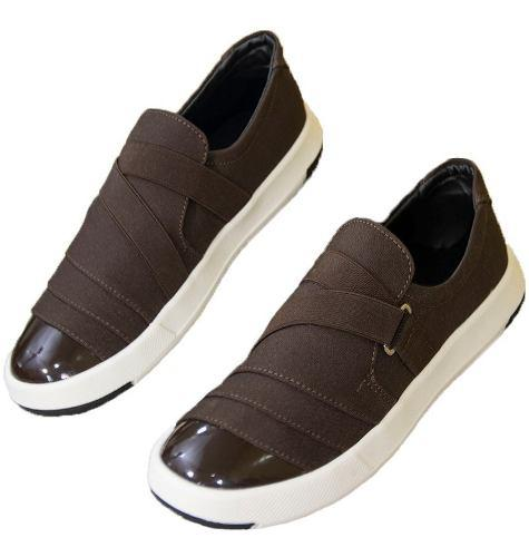 Tenis Zapatos Zapatillas Calzado Charol Cafe Maxi®