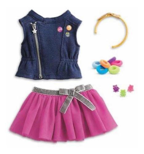 Vestido Con Accesorios Originales Muñeca American Girl