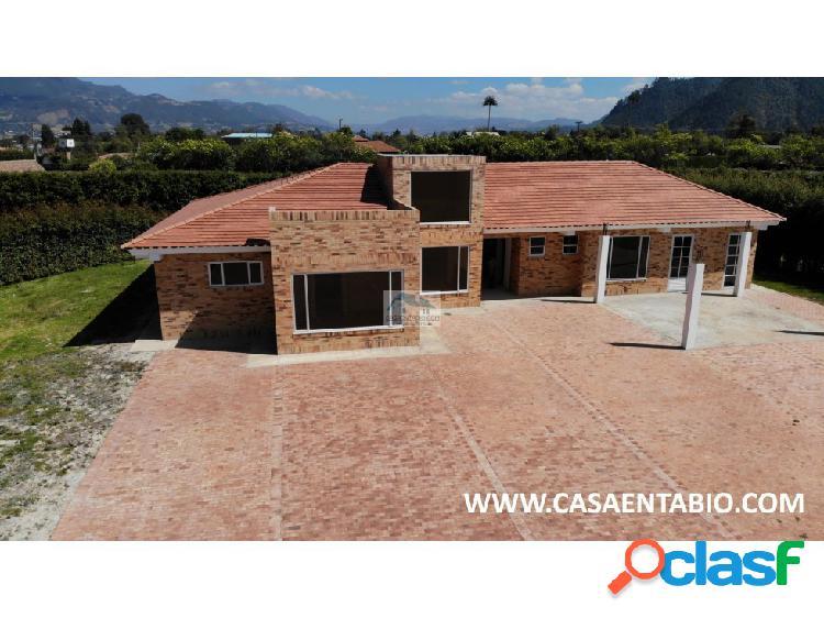 Vendo Casa Campestre en Conjunto Cerrado Tabio