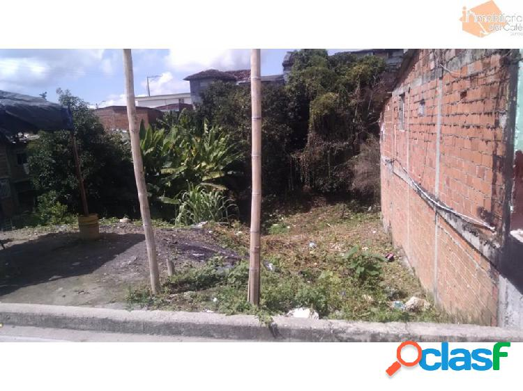 Venta lote en Quimbaya Quindio