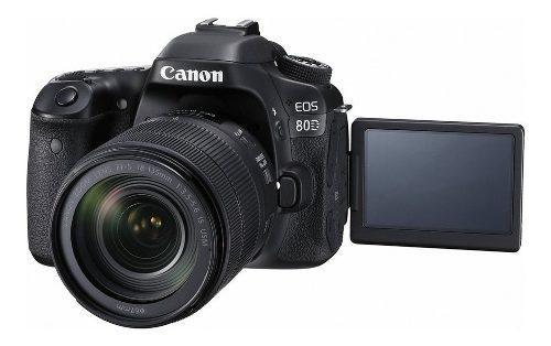 Cámara Canon Eos 80d Con Lente 18-135 Stm 24.2 Mp