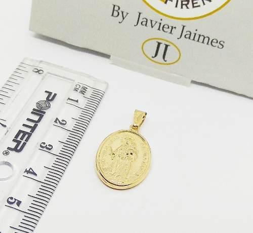 Medalla Maria Auxiliadora Oro 18k Ley 750 Despacho 4 Dias
