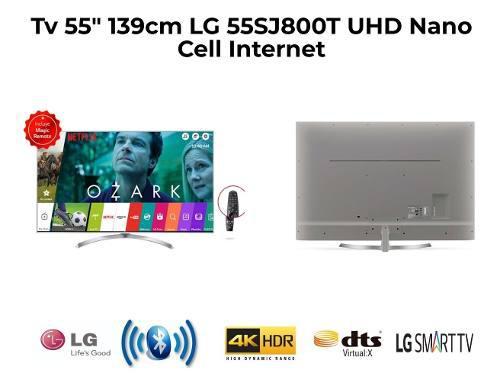 Televisor 55 139cm Lg 55sj800t Uhdnano Cell Internet