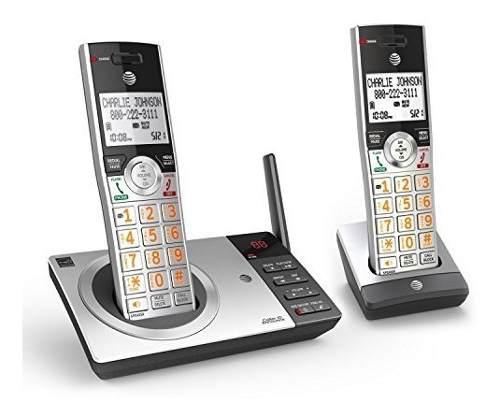 At Y T Cl82207 Teléfono Inalámbrico Expansible Dect 60 Con