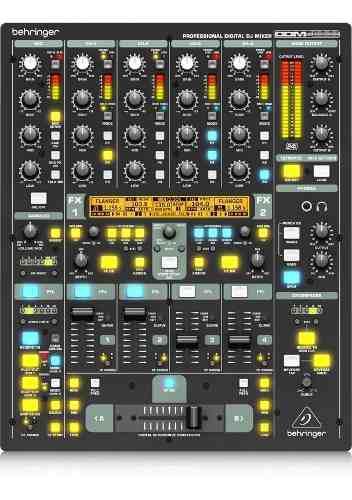 Behringer Pro Ddm4000 Consola Mezclador Dj 5- Ch 2- Mic 4 Fx