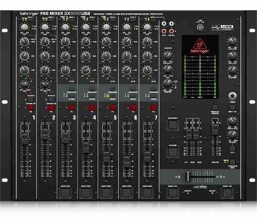 Behringer Pro Dx2000usb Consola Interfaz Mezclador Dj 7 Ch